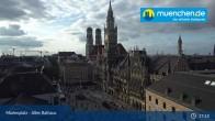 Archived image Webcam Marienplatz Munich, Bavaria 11:00
