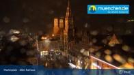 Archived image Webcam Marienplatz Munich, Bavaria 02:00