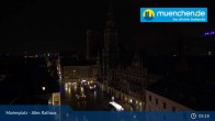 Archived image Webcam Marienplatz Munich, Bavaria 04:00