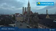 Archived image Webcam Marienplatz Munich, Bavaria 06:00
