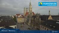 Archived image Webcam Marienplatz Munich, Bavaria 08:00