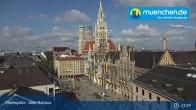 Archived image Webcam Marienplatz Munich, Bavaria 10:00