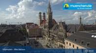 Archived image Webcam Marienplatz Munich, Bavaria 14:00