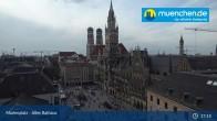 Archived image Webcam Marienplatz Munich, Bavaria 16:00