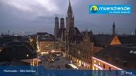 Archived image Webcam Marienplatz Munich, Bavaria 18:00