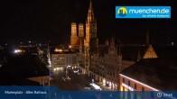 Archived image Webcam Marienplatz Munich, Bavaria 00:00