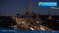 Archiv Foto Webcam Marienplatz München - Altes Rathaus 06:00