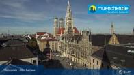 Archiv Foto Webcam Marienplatz München - Altes Rathaus 10:00