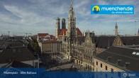 Archiv Foto Webcam Marienplatz München - Altes Rathaus 12:00