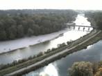 Archiv Foto Webcam Isar in München - Flauchersteg und südlicher Flaucher 06:00