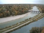 Archived image Webcam Isar in Munich - Southern Flaucher 02:00