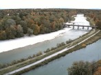 Archived image Webcam Isar in Munich - Southern Flaucher 04:00