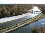 Archived image Webcam Isar in Munich - Southern Flaucher 08:00