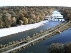 Archived image Webcam Isar in Munich - Southern Flaucher 10:00