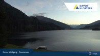 Archived image Webcam Davos Klosters: Lake Davos 21:00