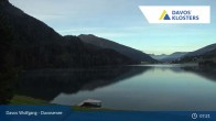 Archived image Webcam Davos Klosters: Lake Davos 01:00