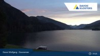 Archived image Webcam Davos Klosters: Lake Davos 19:00