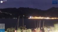 Archiv Foto Webcam Gardasee - Malcesine 19:00