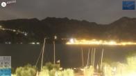 Archiv Foto Webcam Gardasee - Malcesine 21:00