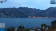 Archiv Foto Webcam Gardasee - Malcesine 01:00