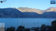 Archiv Foto Webcam Gardasee - Malcesine 02:00