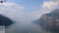 Archiv Foto Webcam Gardasee - Torbole 09:00