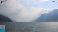 Archiv Foto Webcam Gardasee - Torbole 15:00
