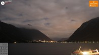 Archived image Webcam Achensee, Tyrol 22:00