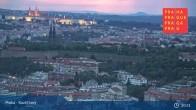 Archiv Foto Webcam in Prag am Kavčí hory 19:00