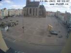 Archived image Webcam Republic Square Pilsen, Czech Republic 02:00