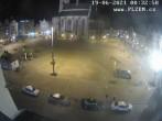 Archived image Webcam Republic Square Pilsen, Czech Republic 18:00
