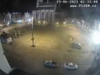 Archived image Webcam Republic Square Pilsen, Czech Republic 20:00