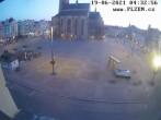 Archived image Webcam Republic Square Pilsen, Czech Republic 22:00