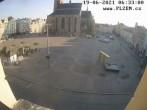 Archived image Webcam Republic Square Pilsen, Czech Republic 00:00