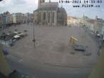 Archived image Webcam Republic Square Pilsen, Czech Republic 08:00