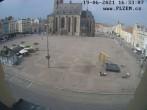 Archived image Webcam Republic Square Pilsen, Czech Republic 10:00