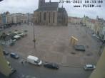 Archived image Webcam Republic Square Pilsen, Czech Republic 04:00