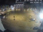Archiv Foto Webcam Platz der Republik in Pilsen (Plzen) 18:00