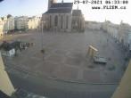 Archiv Foto Webcam Platz der Republik in Pilsen (Plzen) 00:00