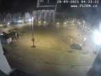 Archiv Foto Webcam Platz der Republik in Pilsen (Plzen) 22:00