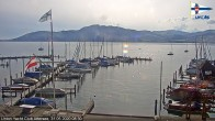 Archived image Webcam Attersee: View at Union Yacht Club 02:00