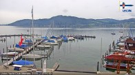 Archived image Webcam Attersee: View at Union Yacht Club 04:00