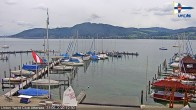 Archived image Webcam Attersee: View at Union Yacht Club 06:00