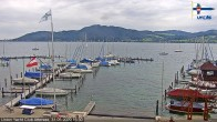 Archived image Webcam Attersee: View at Union Yacht Club 10:00