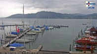 Archived image Webcam Attersee: View at Union Yacht Club 12:00