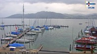 Archived image Webcam Attersee: View at Union Yacht Club 14:00