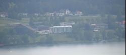 Archived image Webcam Hotel Karnerhof at Faaker See lake 04:00