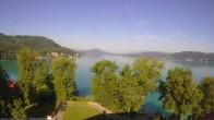Archiv Foto Webcam Schloss Loretto bei Klagenfurt 02:00