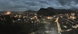 Archiv Foto Webcam Panorama Stadt Salzburg 23:00