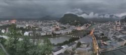 Archiv Foto Webcam Panorama Stadt Salzburg 20:00